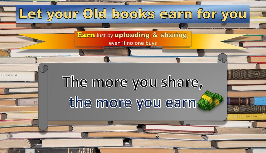 Share Books and earn